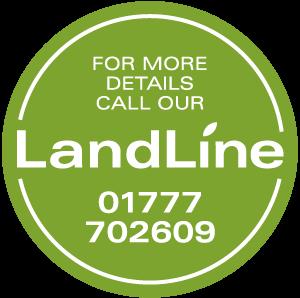 Landline Sticker